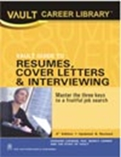Picture of VAULT Guide to Resumes, Cover Letters and Interviewing