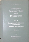Picture of The Complete Company Law & Procedures