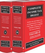 Picture of The Complete INCOME TAX DIGEST 1980 to onward