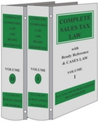 Picture of Complete Sales Tax Law & Case Law