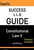 Picture of LLB Guide Constitutional Law II