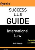 Picture of LLB Guide International Law