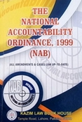 Picture of National Accountability Ordinance 1999 (NAB)