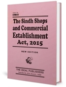 Picture of Sindh Shops & Commercial Establishment Act, 2015