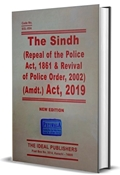 Picture of Sindh (Repeal of Police Act 1861 and Revival of Police Order 2002) Amendment Act 2019