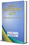 Picture of Manual of Cantonment Laws 2018