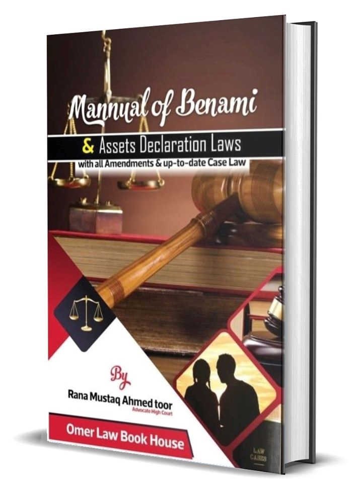 Picture of Manual of Benami & Assets Declaration Laws