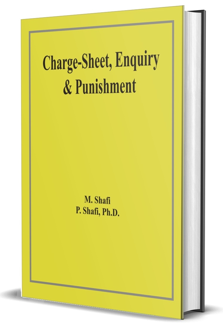 Charge-Sheet, Enquiry & Punishment