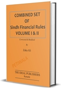 Picture of Combined Set of Sindh Financial Rules Vol 1 & 11