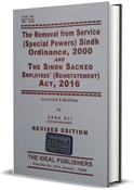 Picture of Removal from Service (Special Powers) Sindh Ordinance, 2000