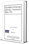 Picture of Sindh Civil Servants (Advance Increments) Rules 1975