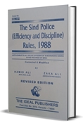 Picture of Sindh Police (Efficiency & Discipline) Rules, 1988