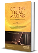 Picture of Golden Legal Maxims