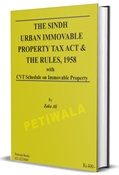 Picture of Sindh Urban Immovable Property Tax Act,1958 & the Rules, 1958