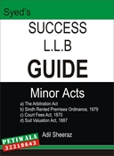 Picture of LLB Guide Minor Acts