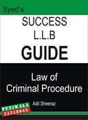 Picture of LLB Guide Law of Criminal Procedure
