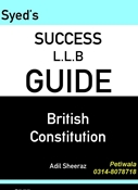 Picture of LLB Guide British Constitution