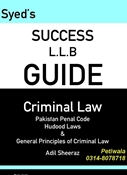 Picture of LLB Guide Criminal Law