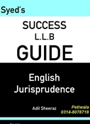 Picture of LLB Guide English Jurisprudence
