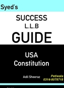 Picture of LLB Guide USA Constitution