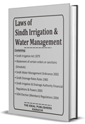 Picture of Laws of Sindh Irrigation & Water Management