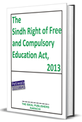 Picture of The Sindh Right of Free and Compulsory Education Act, 2013