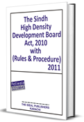 Picture of Sindh High Density Development Board Act, Rules &  Procedures