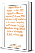 Picture of The Sindh Disposal of Urban Land Ord, 1999