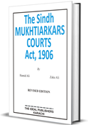 Picture of The Sindh  MUKHTIARKARS COURTS Act, 1906