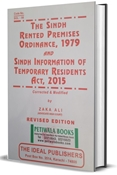 Picture of Sindh Rented Premises Ordinance, 1979 with The Sindh Information of Temporary Residents Act, 2015