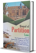 Picture of Manual of Partition Laws