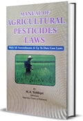 Picture of Manual of Agricultural Pesticides Laws
