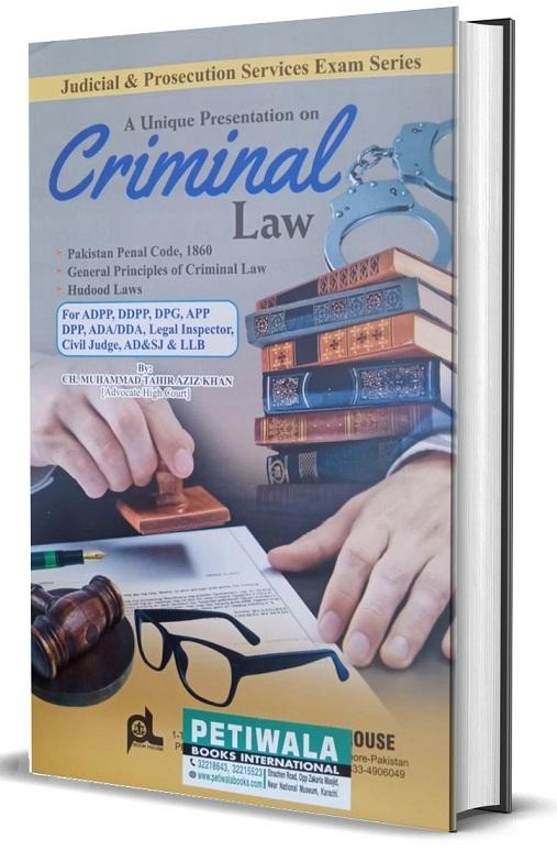 Picture of A Unique Presentation on Criminal Law
