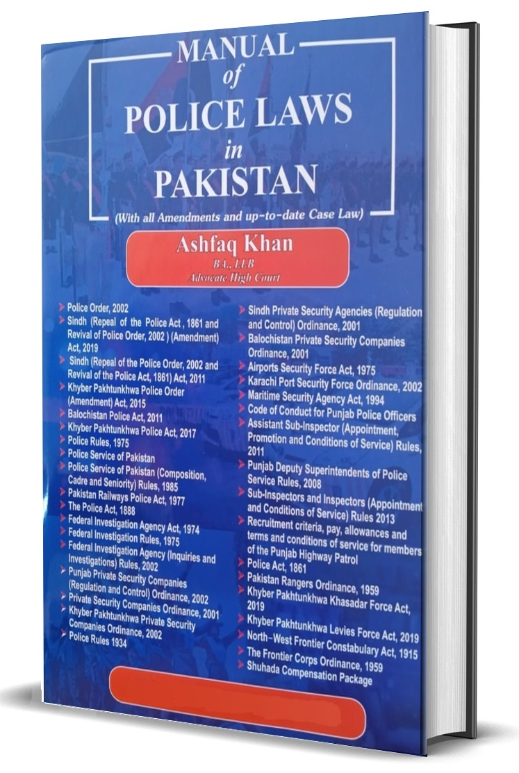 Manual of Police Laws in Pakistan