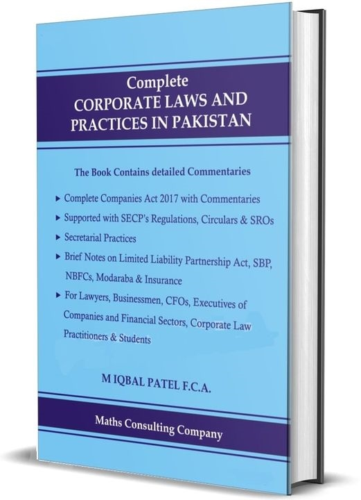 Complete CORPORATE LAWS AND PRACTICES IN PAKISTAN