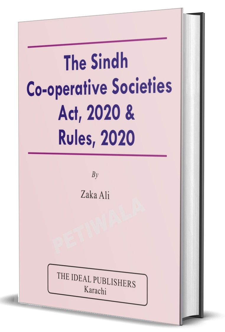 Sindh Cooperative Societies Act, 2020 & Rules 2020