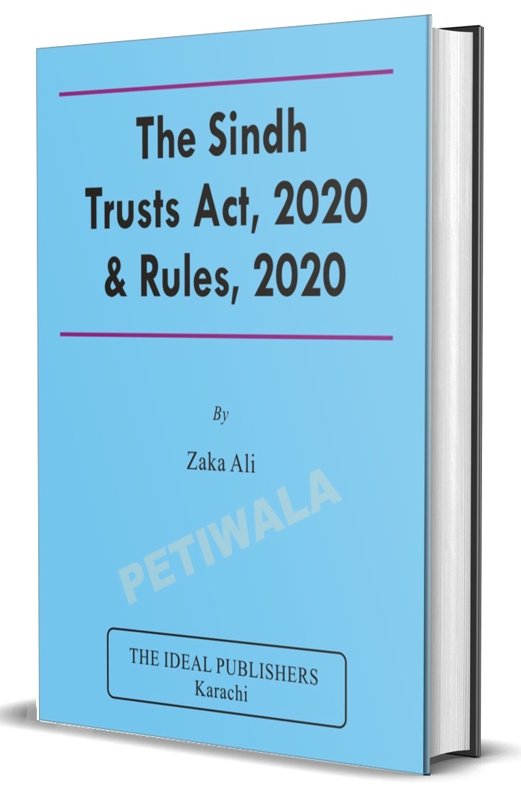 Sindh Trusts Act, 2020 & Rules, 2020
