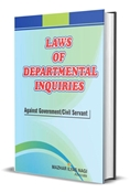 Picture of Law of Departmental Inquiries against Government / Civil Servants