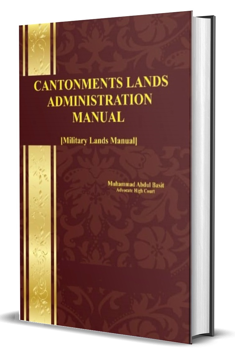 Cantonments Lands Admnistration Manual [Military Lands Manual]