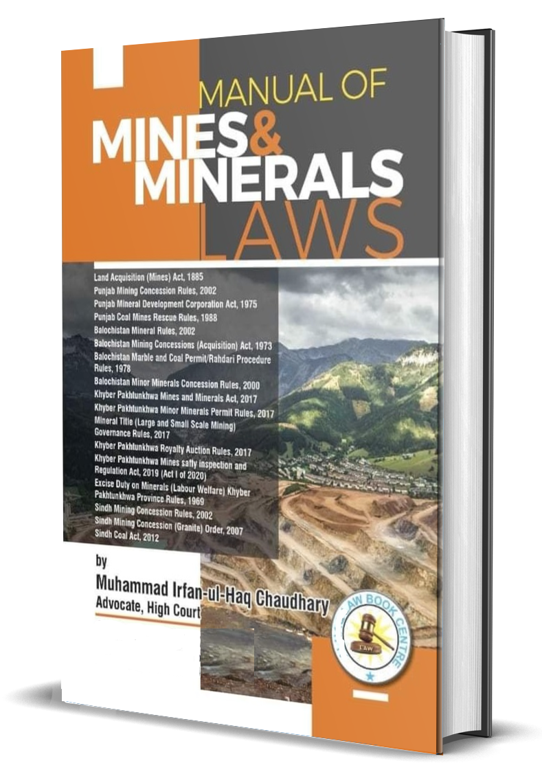 Manual of Mines & Minerals Laws