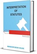 Picture of Interpretation of Statutes