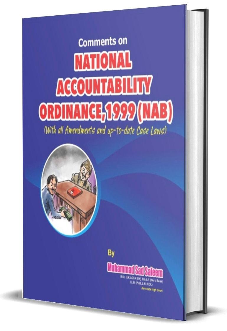 The National Accountability Ordinance, 1999