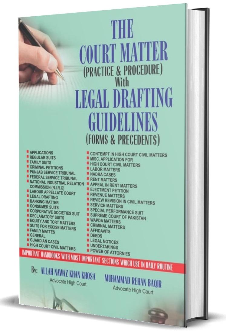 The Court Matters (Practice & Procedure)