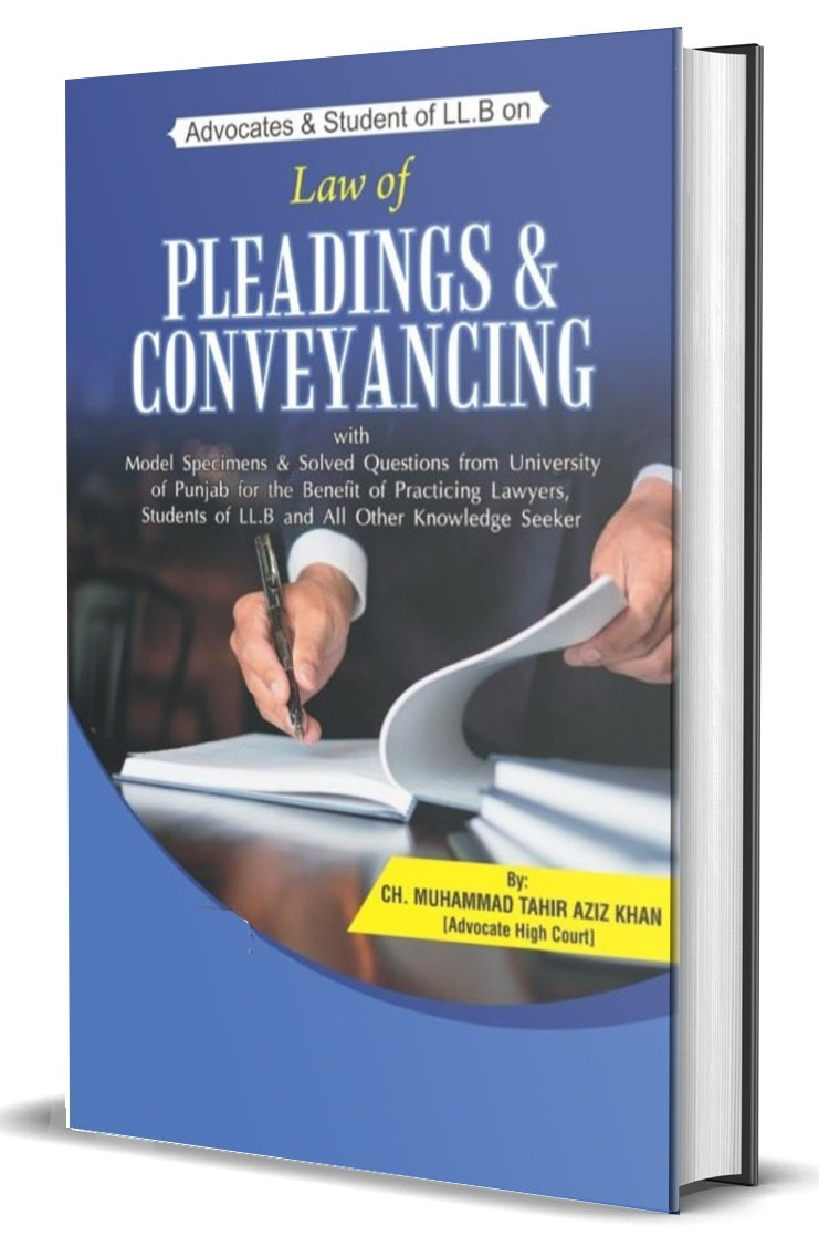 Law of Pleadings And Conveyancing with model Specimens