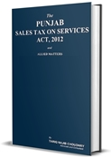 Picture of Punjab Sales Tax on Services Act 2012 & Rules