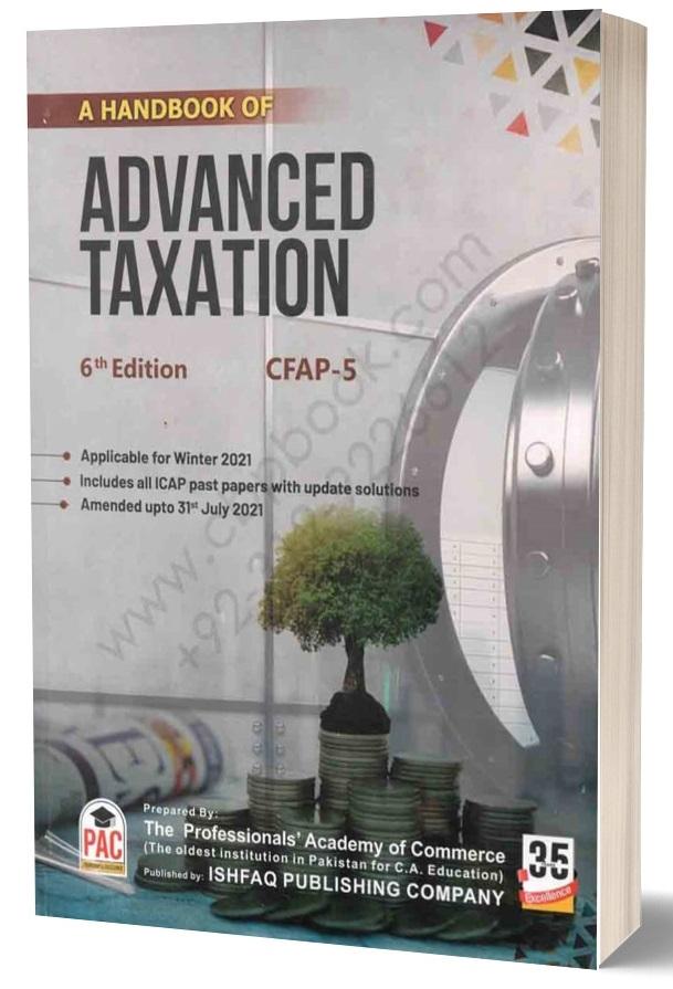 A Handbook of ADVANCED TAXATION