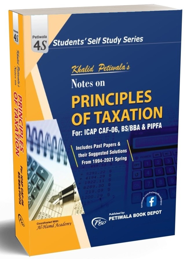 Notes on Principles of Taxation